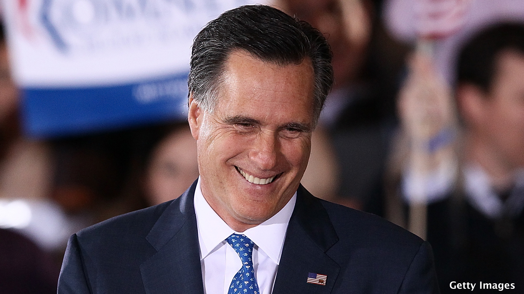 Another poll indicates positive view of Romney on rise