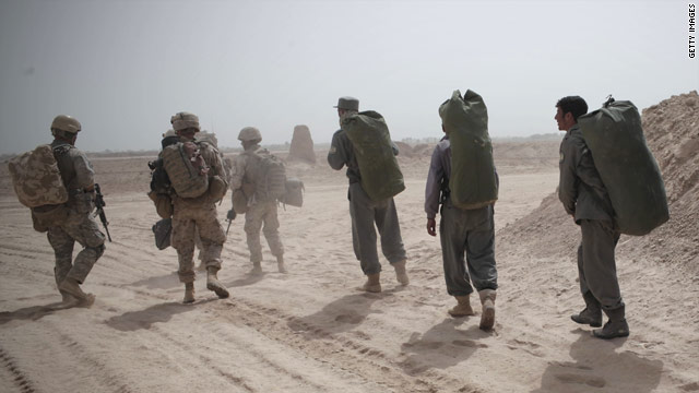 Poll: Half say accelerate pullout from Afghanistan