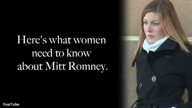New DNC video pits Romney against women