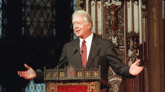 Jimmy Carter publishes study Bible, discusses faith-filled life