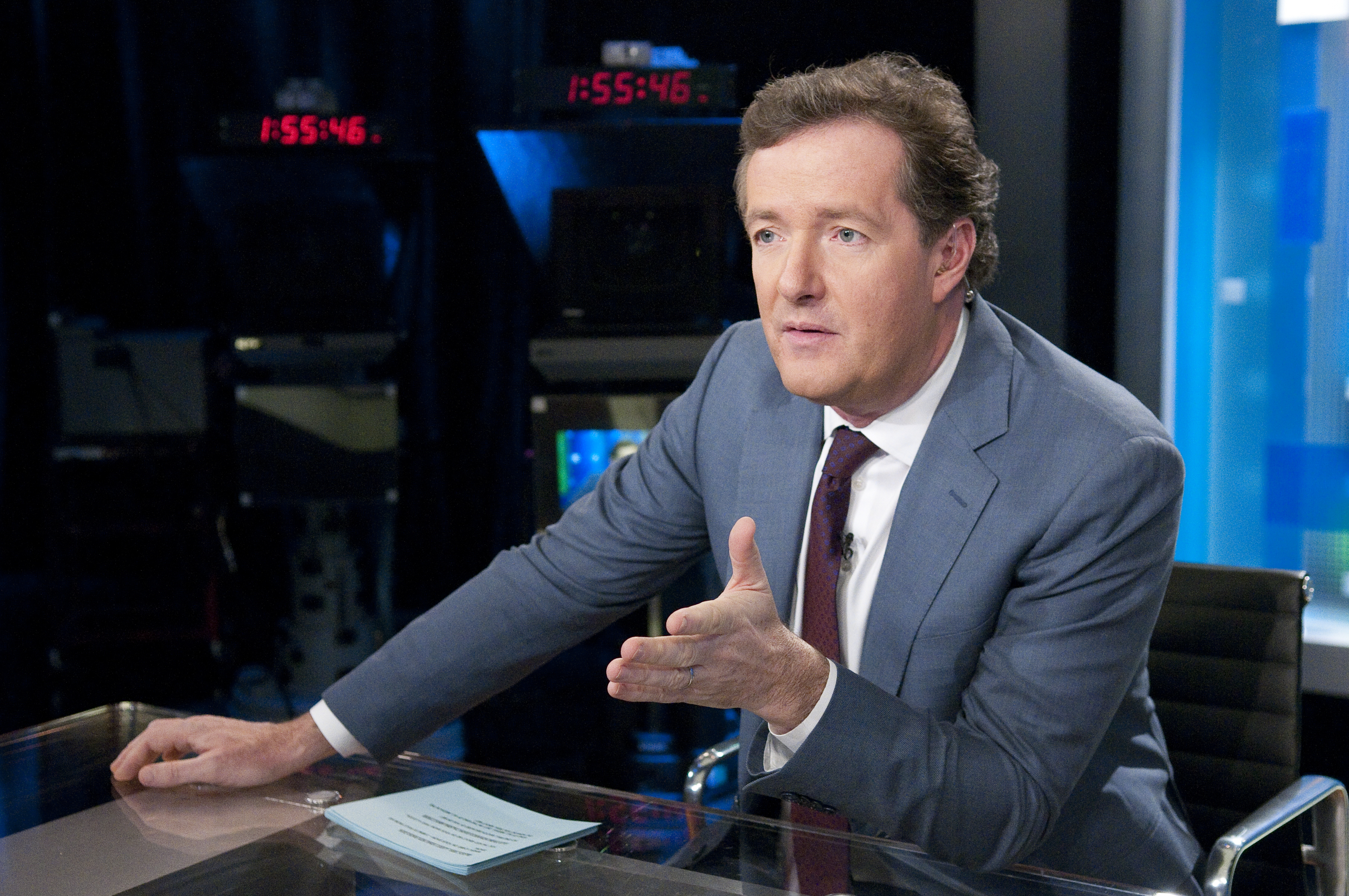Piers Morgan reveals himself as a fashion trendsetter and budding film star