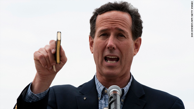 Is Rick Santorum suddenly doing himself in?