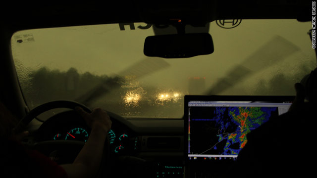 Storm chasing: Hurry up and wait