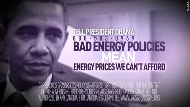 Conservative group hits Obama during American energy swing