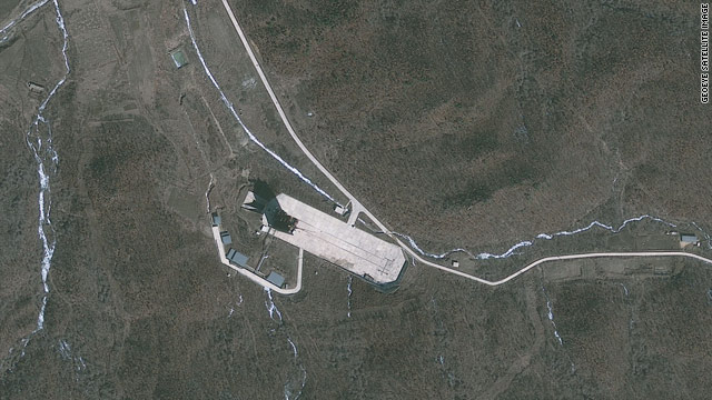 NEW LOOK: North Korea's launch pad