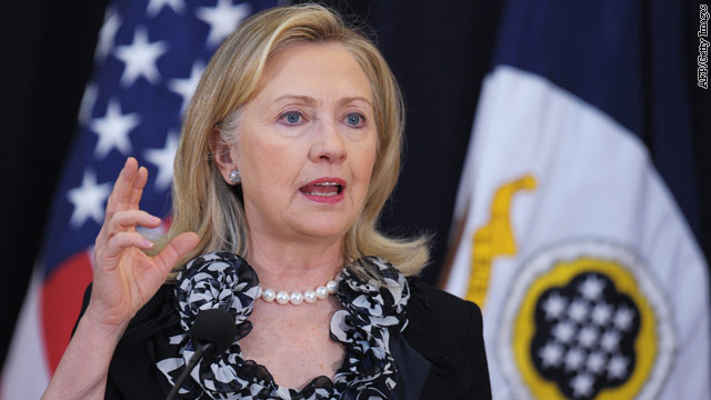 "Clinton to Syrian president: ""Take this path"""