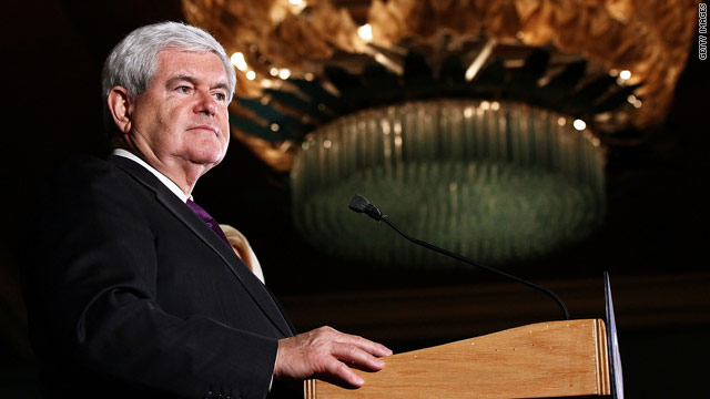 Gingrich's unconventional role at the Republican convention