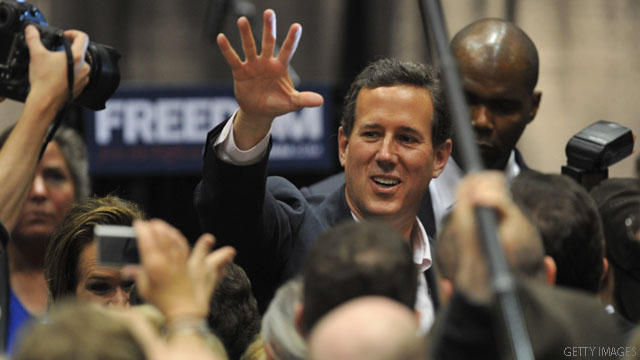 Poll: Santorum well ahead in Louisiana