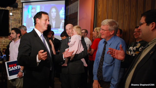 Wisconsin senator throws support behind Santorum
