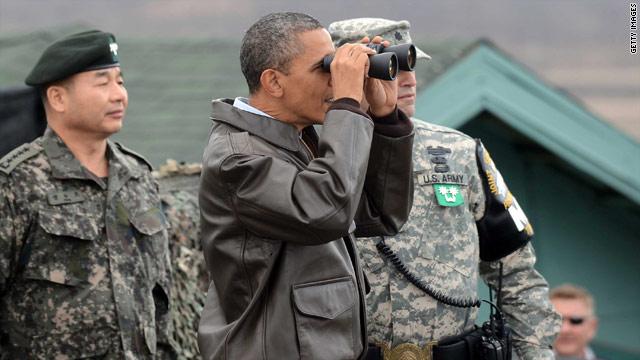 POTUS visits DMZ