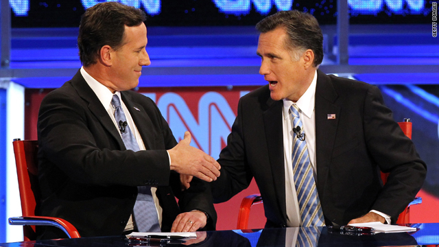If you were Romney, under what circumstances would you ask Santorum to be your running mate?