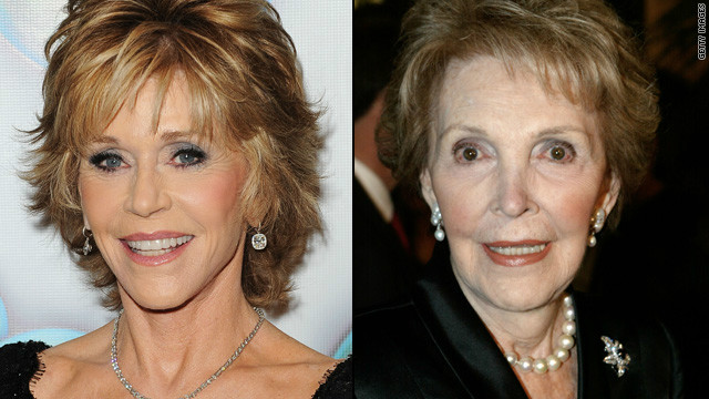 Jane Fonda in talks to play Nancy Reagan