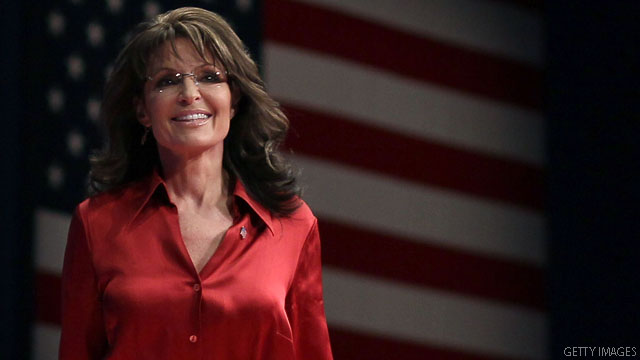 Palin makes brief mention of Ryan, Romney in V.P. statement