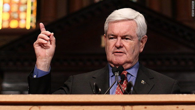 Amid new focus, Gingrich's ire remains the same