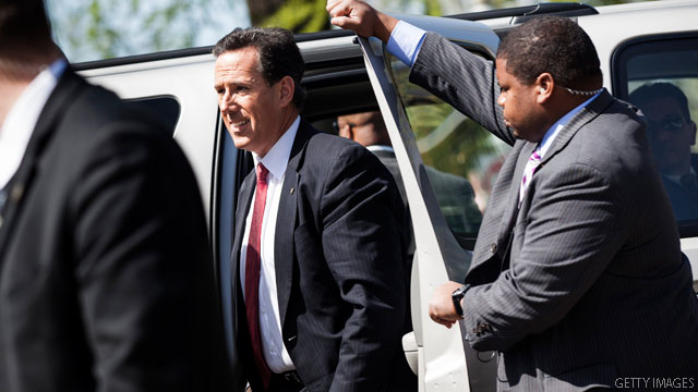 Poll: Santorum support dips in home state