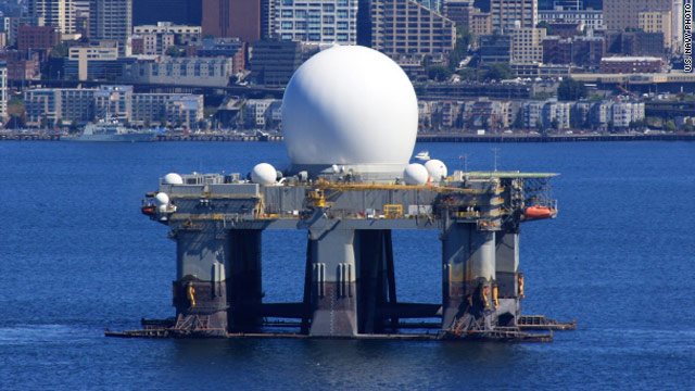 Navy ships out radar system ahead of North Korea launch