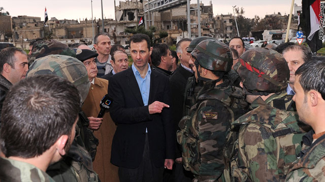 Syrian opposition leader: We're going to ask for arms, more help