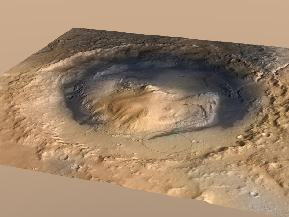 Scientists target 3-mile-high Martian mountain