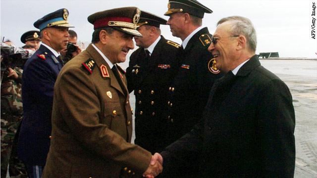 U.S. targets Syrian defense minister