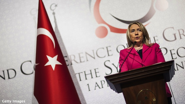 Why Secretary Clinton is going to Istanbul