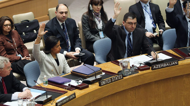 U.S. takes lead on U.N. Security Council