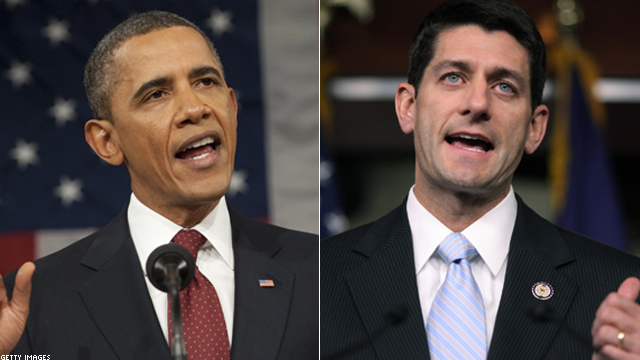 Obama to hit Ryan's budget plan
