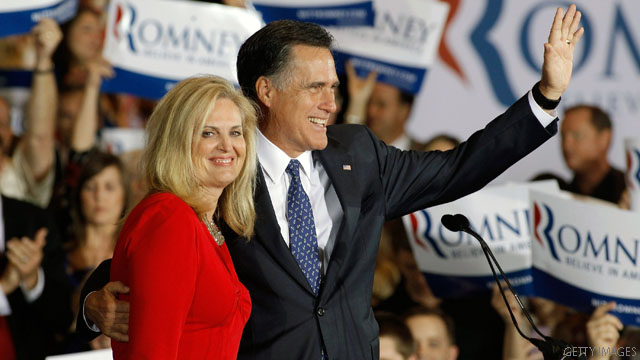 Ann Romney goes for the zipper