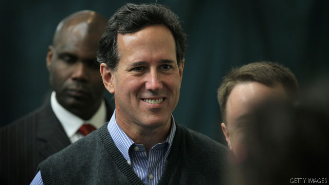 Santorum: I'll 'absolutely' win Pennsylvania