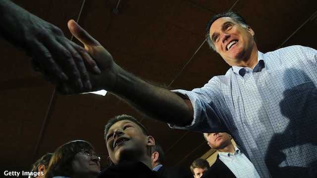 Romney takes jab at Obama campaign's new slogan