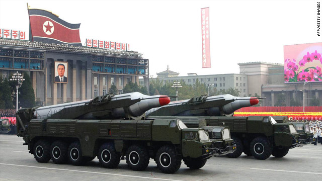 New North Korean missile or parade float?
