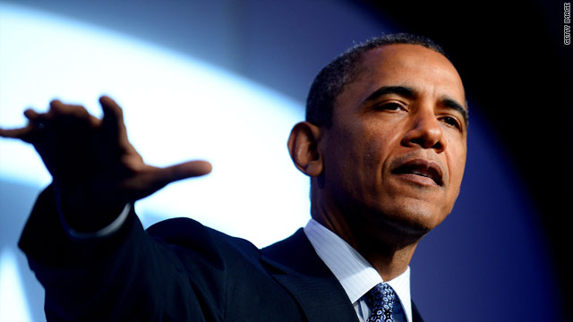 Obama trashes trickle-down economics