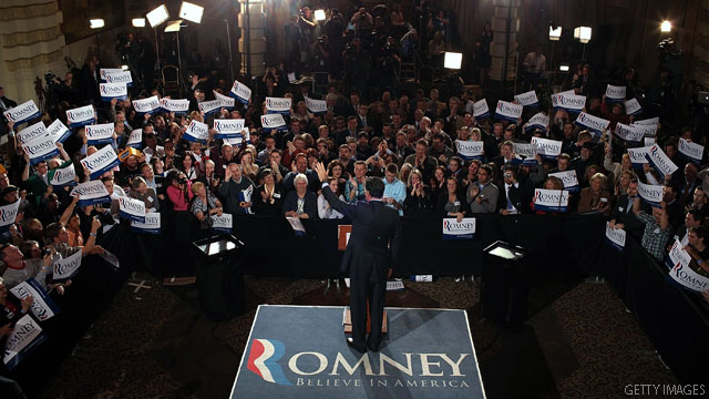 Romney releases March fundraising figures