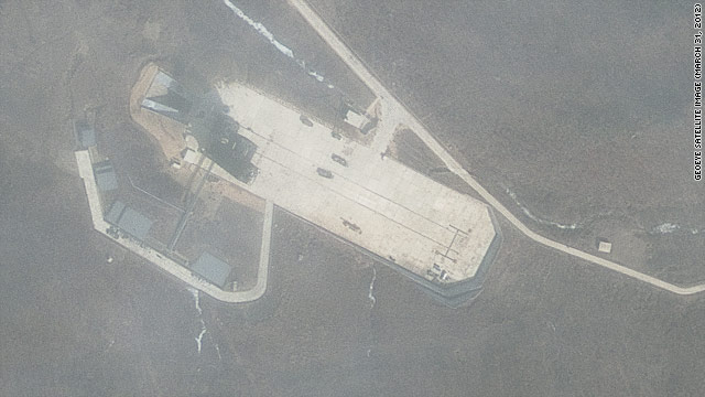 NEW SATELLITE IMAGE: More activity at North Korea launch facility