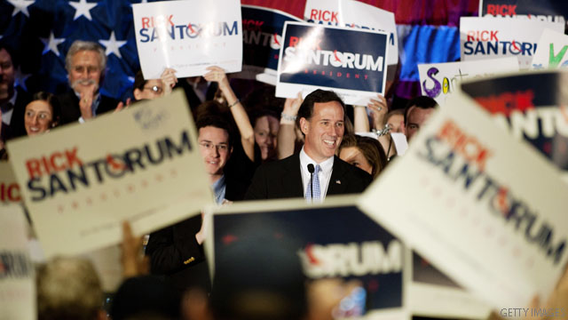 Santorum remains undeterred, predicts Pennsylvania win