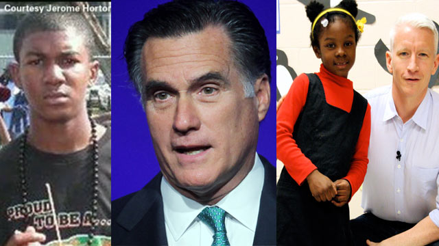 The AC360 Weekly Buzz: Kids on Race study, Texas tornadoes, California college shooting, Romney, Justin Bieber