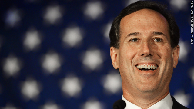 Rick Santorum for president? Seriously?