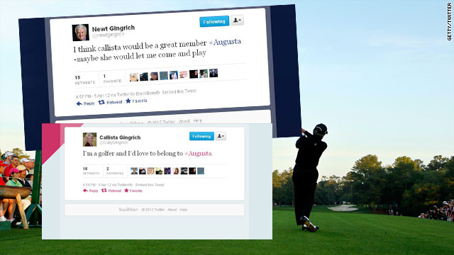 Tweet of the Day: Callista&#039;s a golfer
