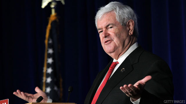 Gingrich is millions in the hole