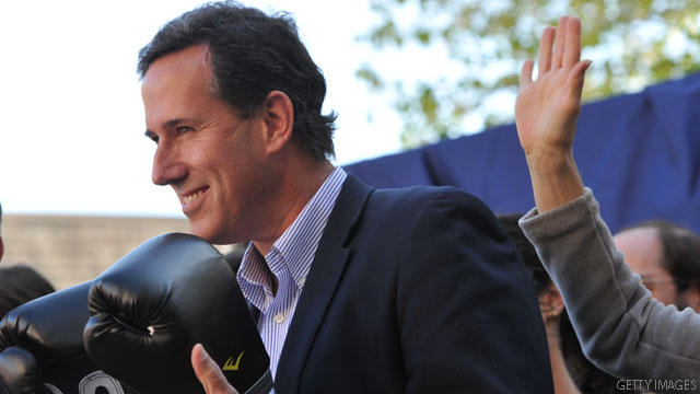 Santorum benefits from staying in GOP race