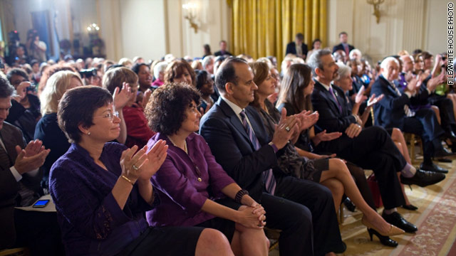 White House focuses on women