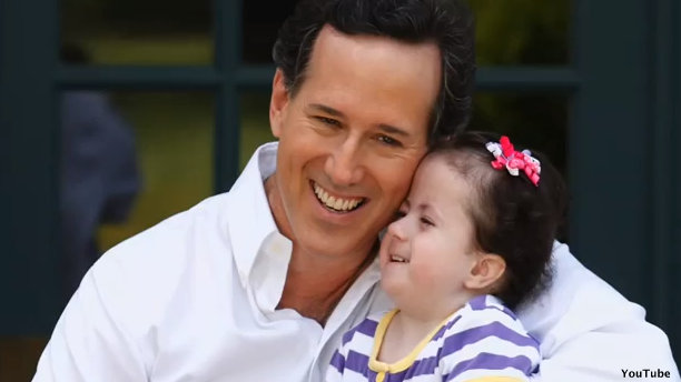Santorum's daughter, Bella, hospitalized again