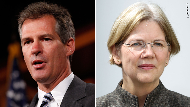 Brown continues offense on Warren over Native American claims