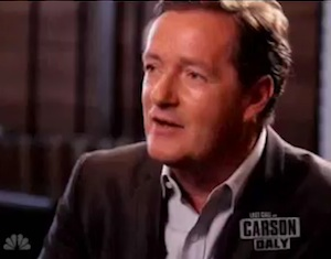 "Piers Morgan on ""Last Call with Carson Daly"""