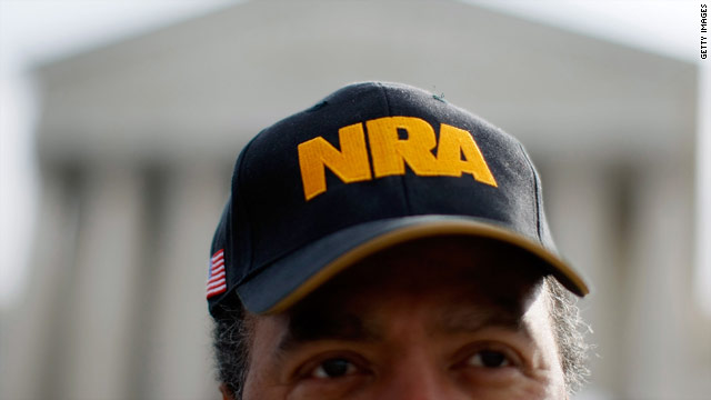 NRA sues over New York gun control