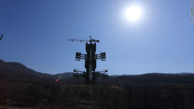 Photos of North Korea's newest rocket