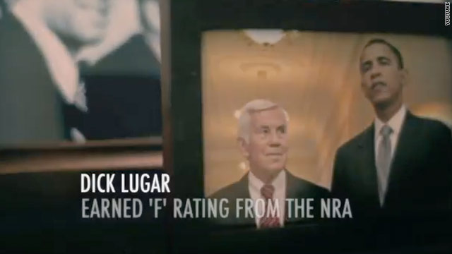 NRA hits Lugar as primary day approaches