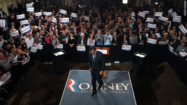 Romney: I speak with Gingrich more than Santorum