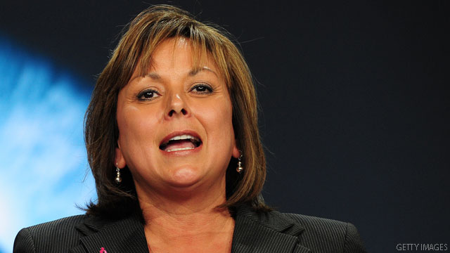 Gov. Martinez shuts V.P door