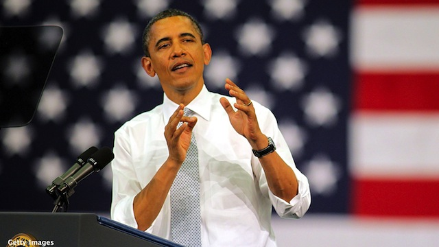 Obama campaign salutes anniversary of Romney's health care law