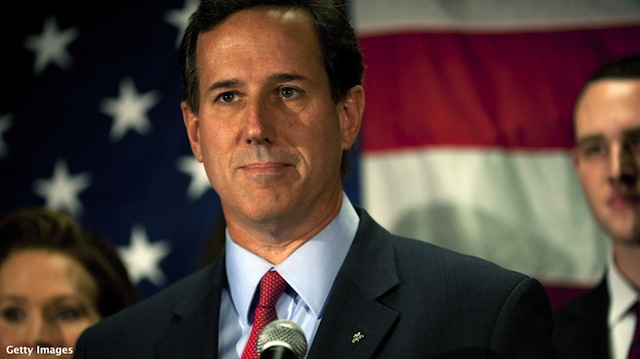 Social conservatives don't rush to Romney after Santorum news